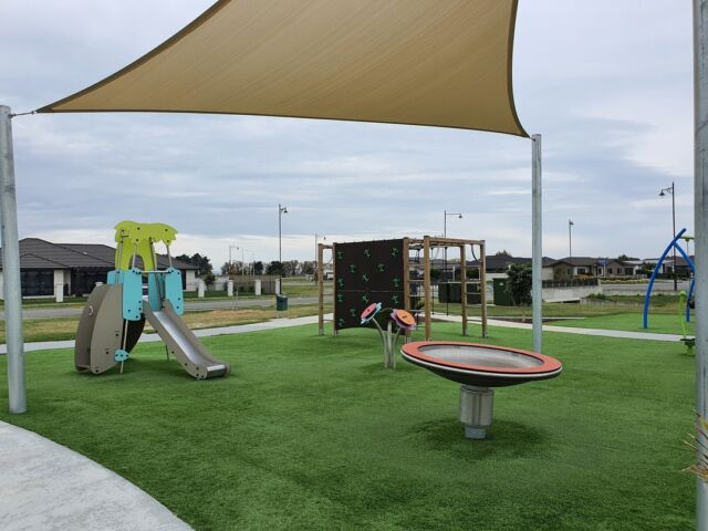 Orotu Park in Napier has had an upgrade! Featuring swings, a climbing cube, singing flowers and much more, residents of the area couldn't be happier!  #expertsatplay #playstartshere #play #park #playground #playgroundnz #swings #shadesails #proludic
